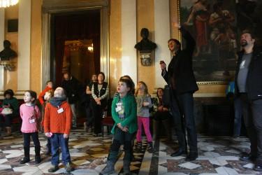 Hlavní foyer, Národní divadlo, požár Národního divadla, Peprná Procházka, děti a volný čas v Praze, Nazdar Národní divadlo