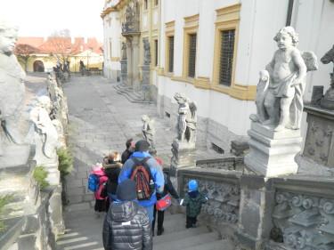 Kapucíni, kostel Panny Marie Andělské na Hradčanech, Peprná Procházka, Nový Svět, klášter kapucínů,