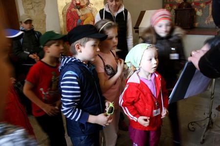 Rotunda sv. Longina, Nové Město, Peprná procházka, děti a volný čas v Praze, Přijímáme podobojí, padejte!