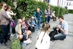Malostranská, Valdštejský palác, Peprná procházka, procházky po Praze pro děti, volný čas s dětmi v Praze