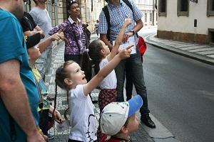 Valdštejský palác, Peprná procházka, procházky po Praze pro děti, volný čas s dětmi v Praze