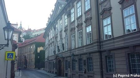Kolovratský palác, Valdštejnská ulice, Senát ČR, Malá Strana